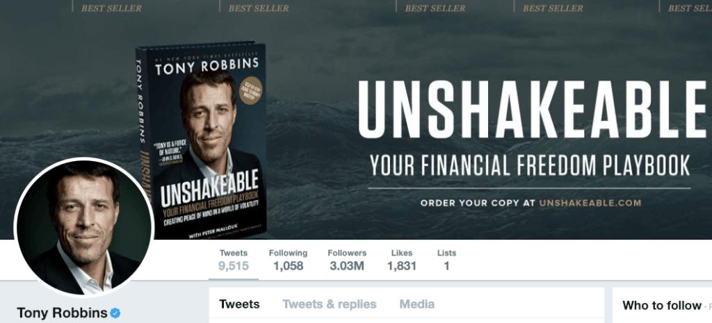 Tony Robbins on Twitter