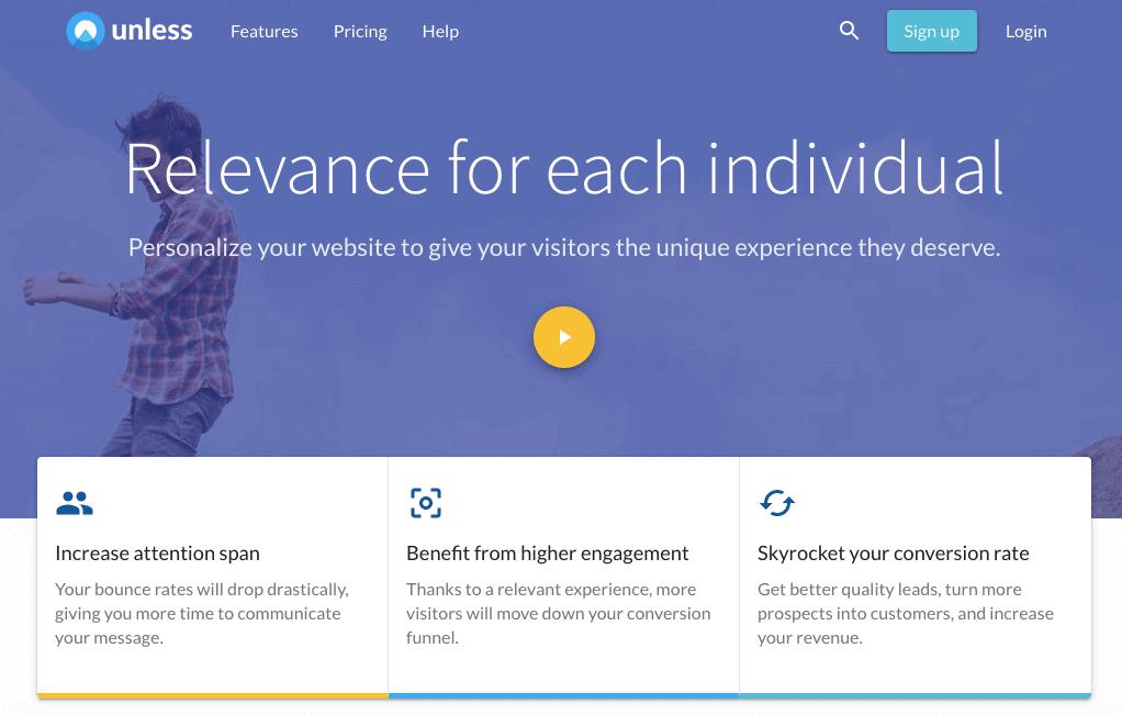 Salvo personalizzare il sito Web