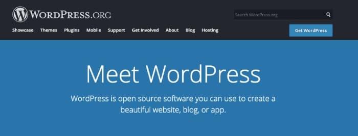 WordPress.org Blogging CMS