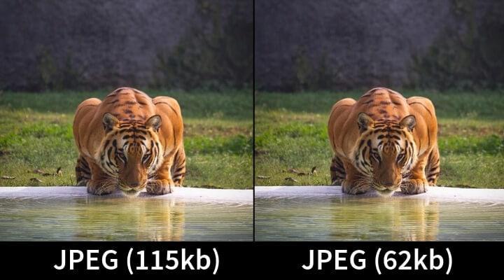 JPEG compresso