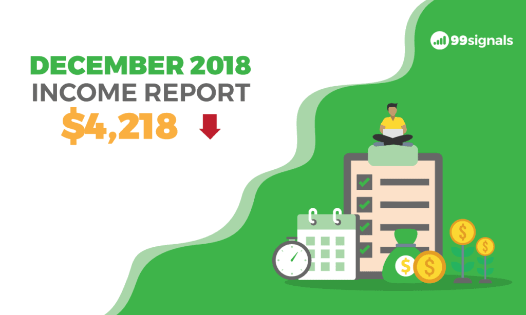 Dec 2018 Income Report - 99signals