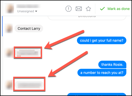 Facebook Messenger Ad Contacts