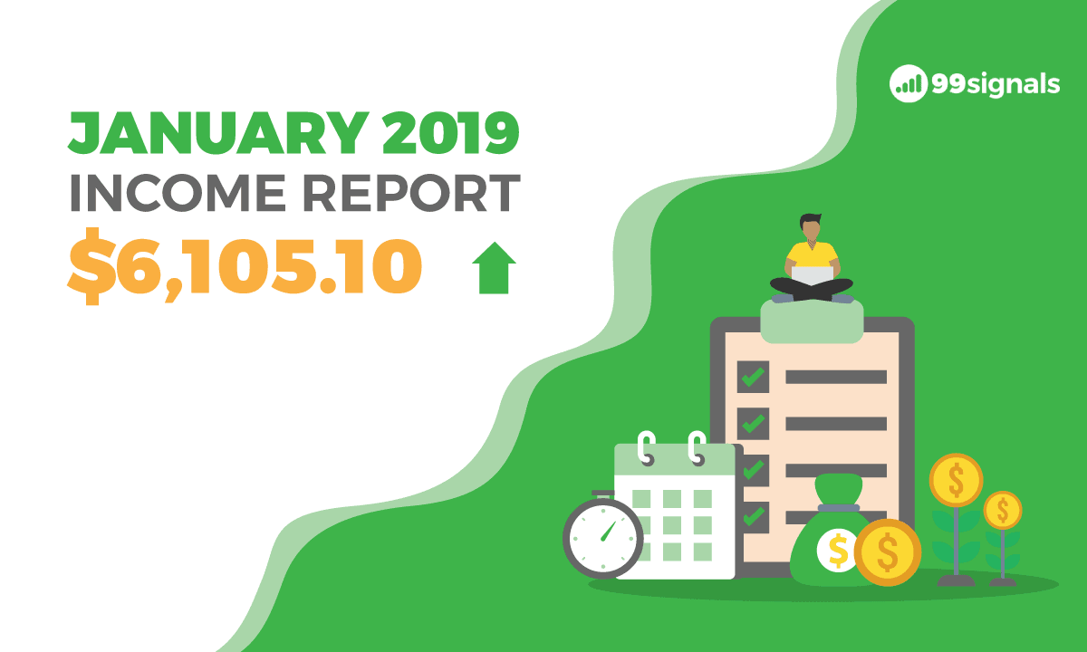 How I Earned $6,105.10 in Side Income Last Month (Jan 2019 Income Report)