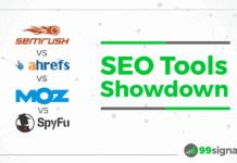 SEO Tools Showdown: SEMrush vs Ahrefs vs Moz Pro vs SpyFu
