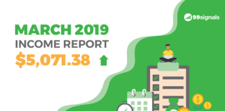 March 2019 Income Report - 99signals