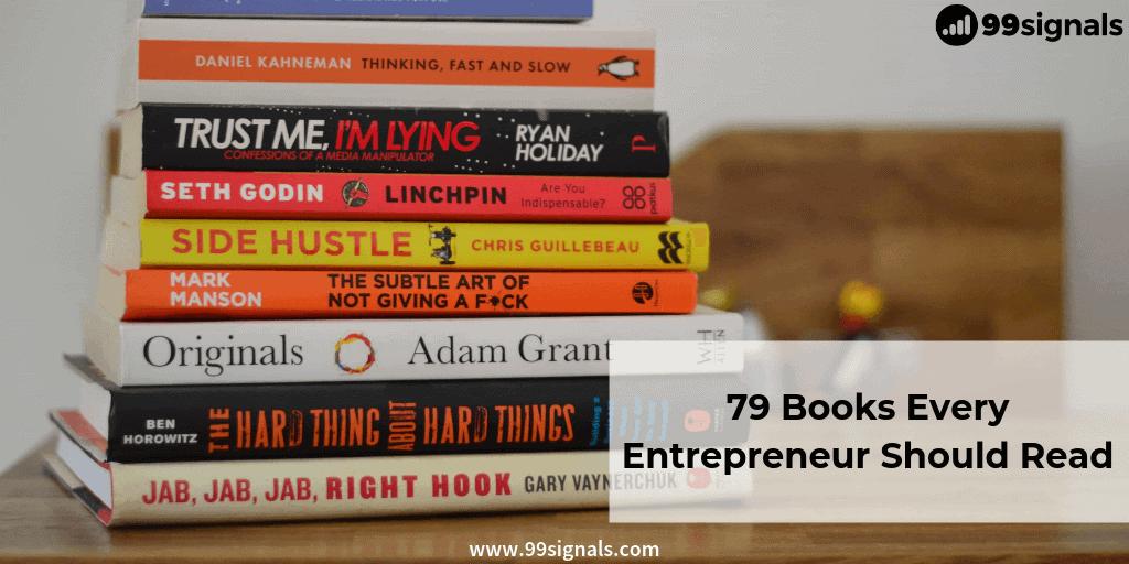 Best Books for Entrepreneurs: 79 Books Every Entrepreneur