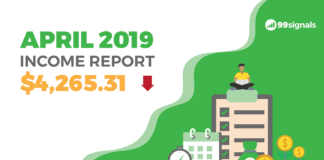 April 2019 Income Report