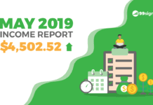 How I Earned $4,503.32 in Side Income Last Month [May 2019 Income Report]