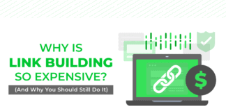 Why is Link Building Expensive? (And Why You Should Still Do It)