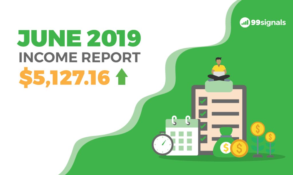 How I Earned $5,127.16 in Side Income Last Month [June 2019 Income Report]