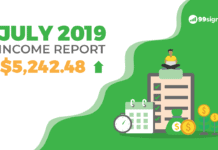 July 2019 Income Report - 99signals