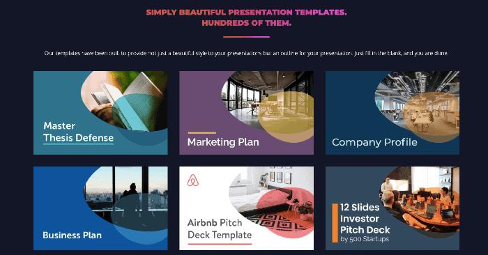 Slidebean Presentations