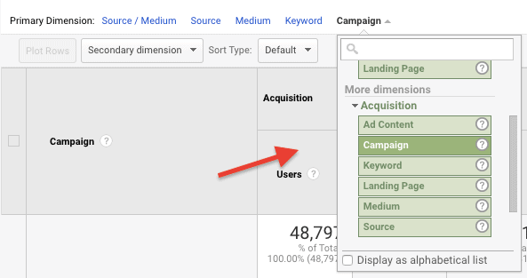 Google Analytics - Campaign Tracking