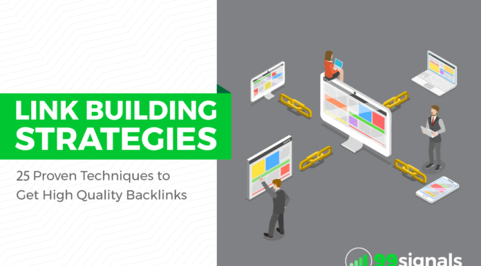 Link Building Strategies: 25 Proven Techniques to Get High Quality Backlinks