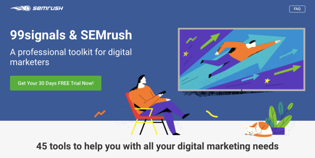 SEMrush Pro Offer