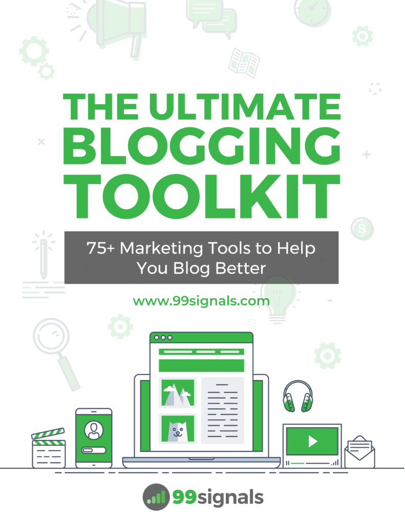 The Ultimate Blogging Toolkit eBook