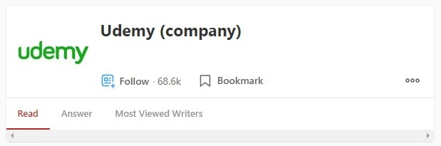 Udemy Company Profile Quora Marketing