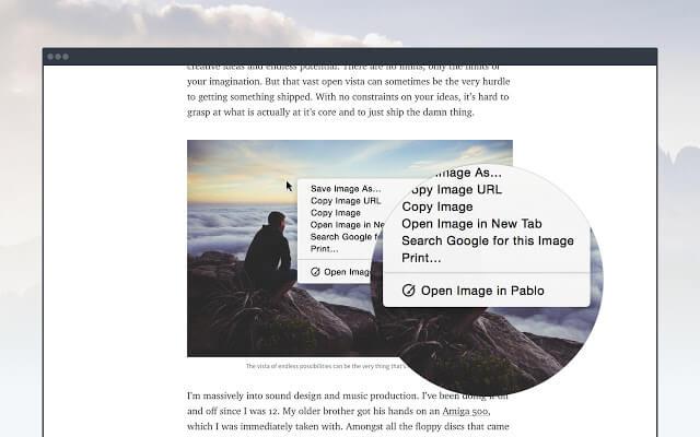 Pablo Chrome Extension