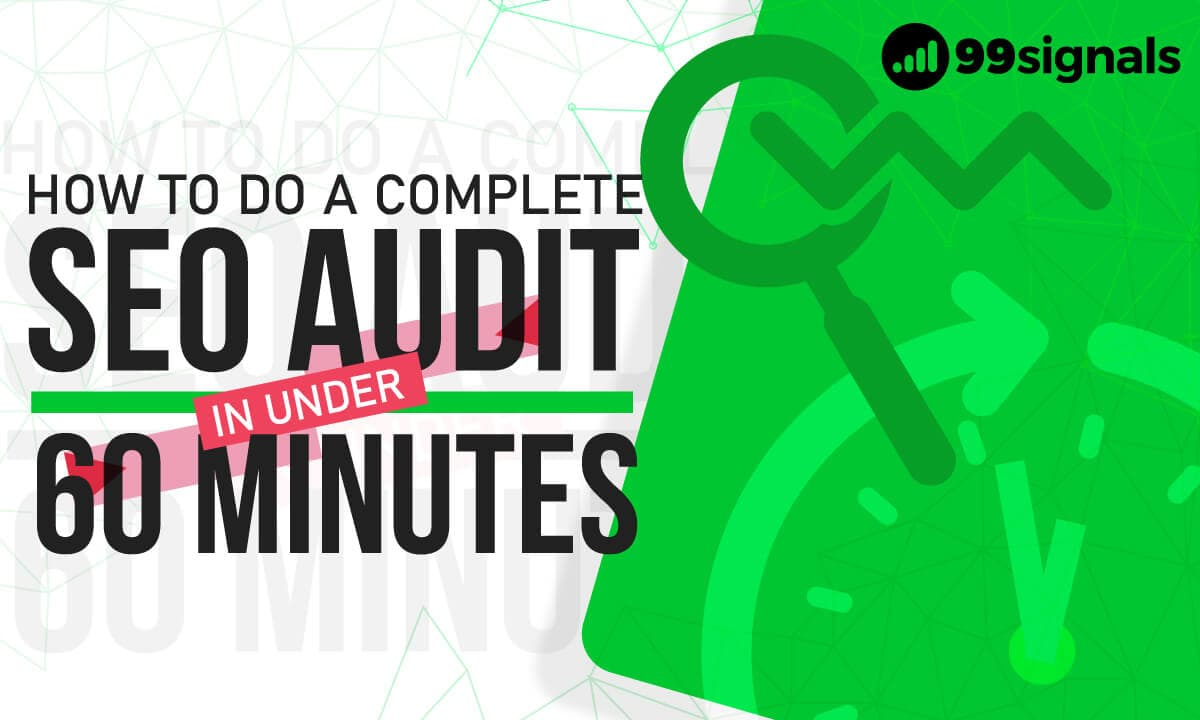 SEO Audit by 99signals