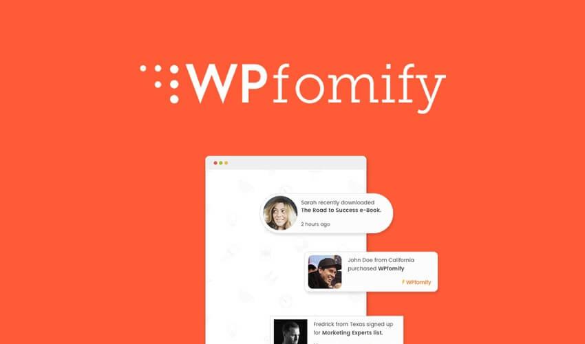 WPfomify AppSumo Deal