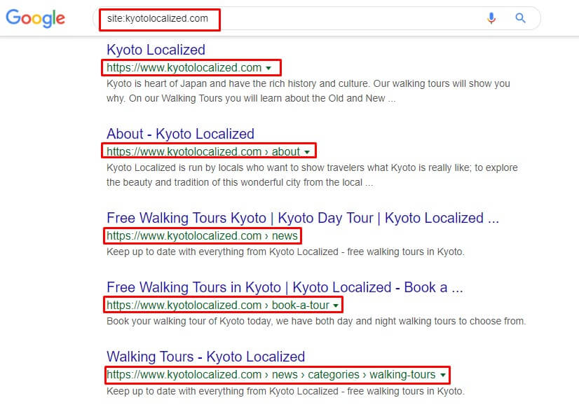 Kyoto Localized Site Command - SEO Audit