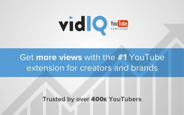 vidIQ Chrome Extension