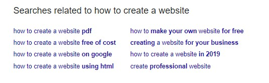 Related Keywords - Google Search