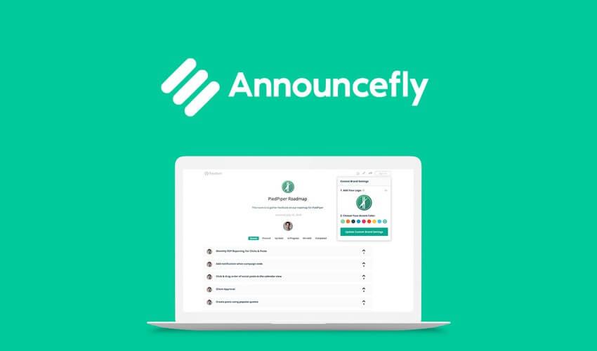 AnnounceFly AppSumo