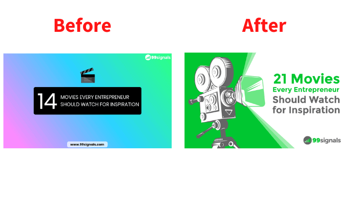 Blog Graphic - Prima e dopo