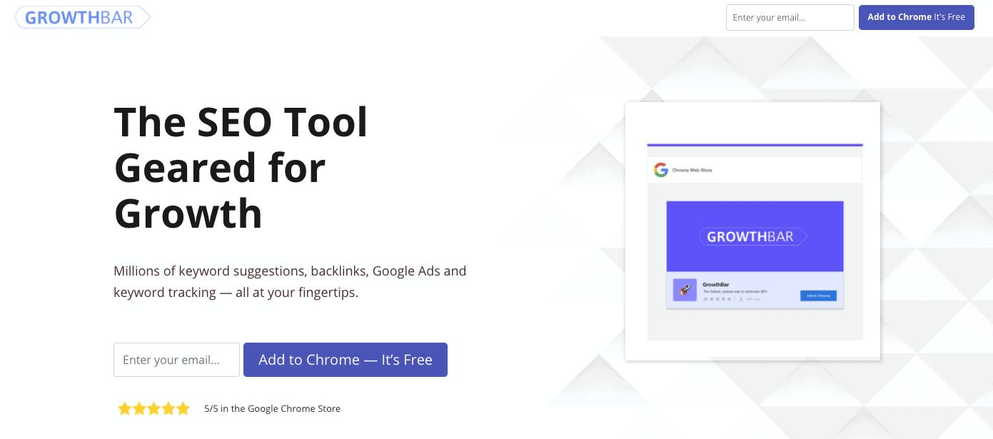GrowthBar - Local SEO Tool