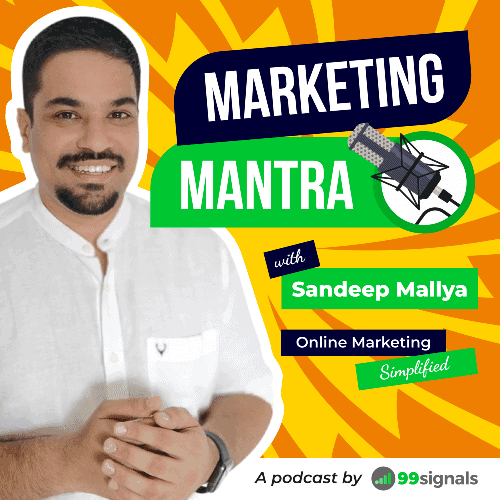 Marketing Mantra Podcast with Sandeep Mallya - 2020 Cover