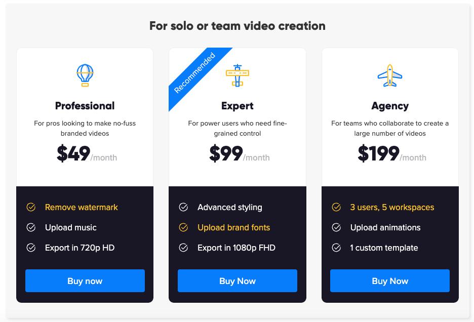 Rocketium Pricing
