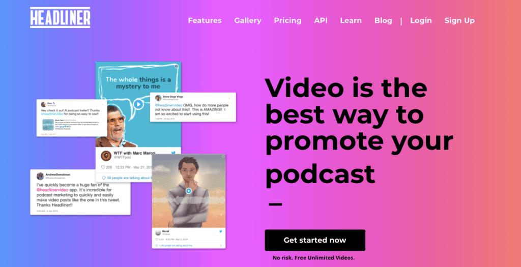 Headliner - Facebook Marketing Tool