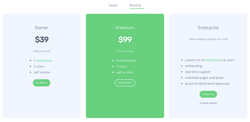 Planable Pricing