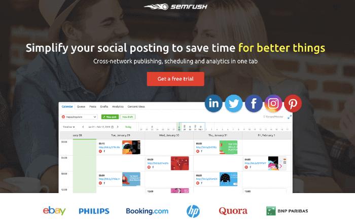 SEMrush Social Media Marketing