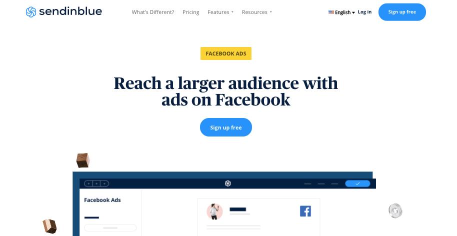 SendinBlue FB Ads