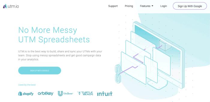 UTM.io - Facebook Marketing Tool