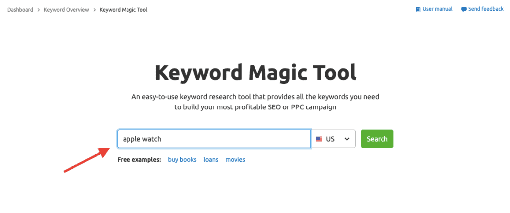 Keyword Magic Tool by SEMrush - SEMrush vs SpyFu
