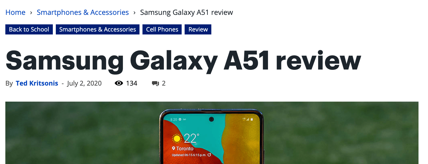 Best Buy - A51 Review