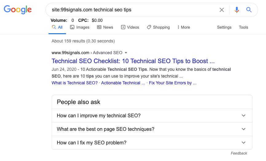 Google Keyword Research 2020