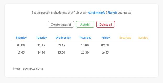 Publer - Auto-Scheduled Posts