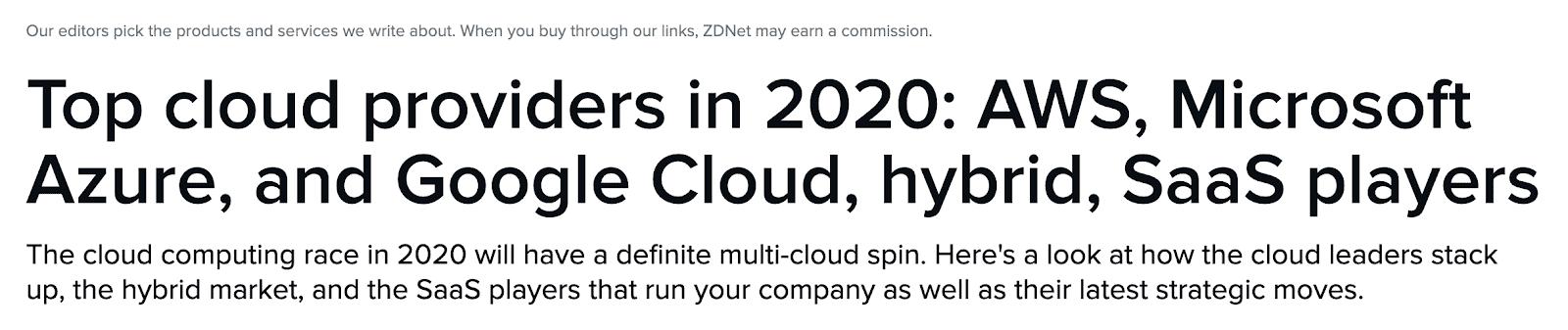 ZDNet Comparison Post