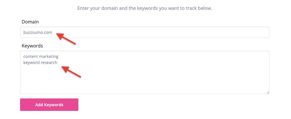 GrowthBar Review - Keyword Tracking 2