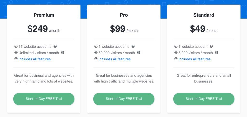 LeadQuizzes Pricing Plans