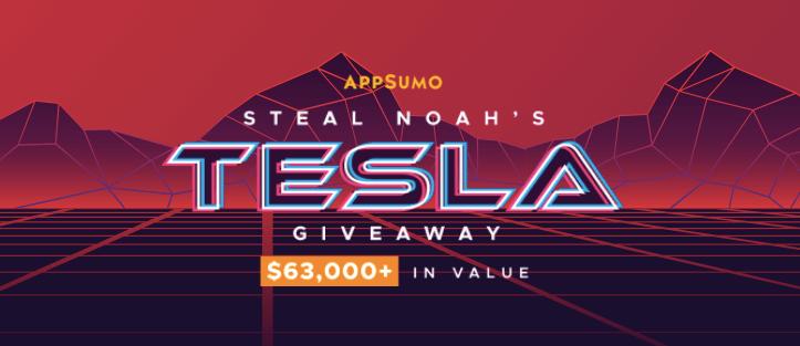 AppSumo Tesla Giveaway 2020