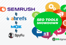 SEO Tools Showdown: SEMrush vs Ahrefs vs Moz vs SpyFu