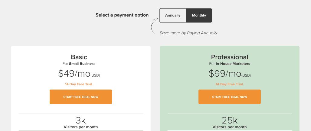 Lander Pricing 2021