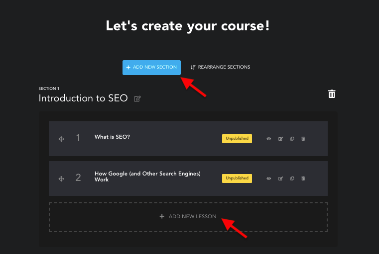 Creating a Course - Hyax Review