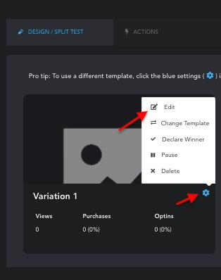 Hyax - Editing Landing Page