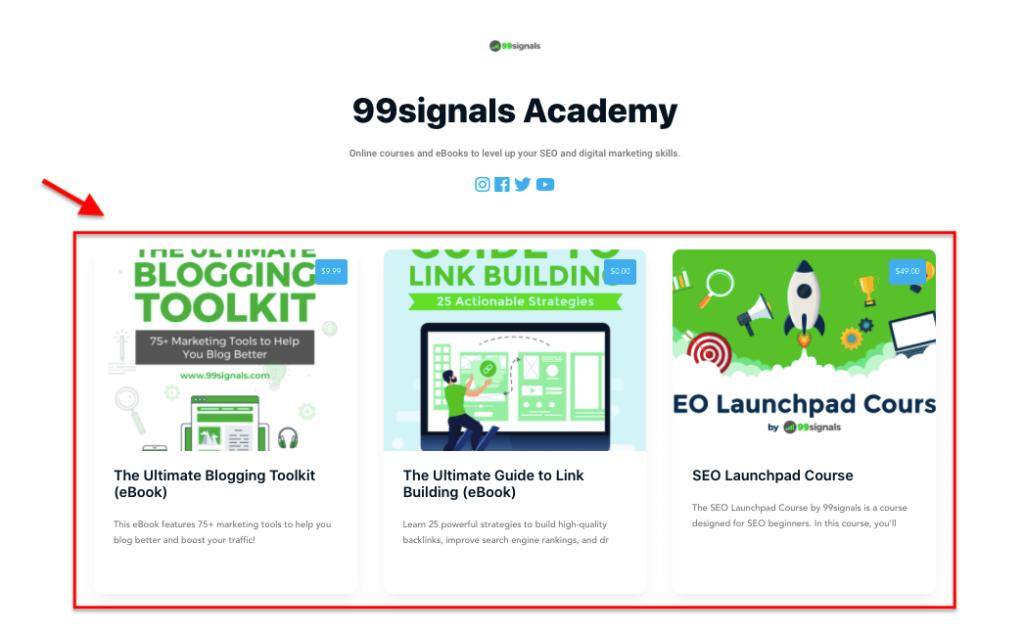 Hyax Online Store - 99signals Academy